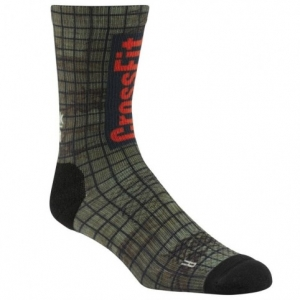 Socks Reebok CrossFit Training Printed Crew U CD1163