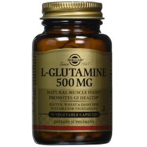 Solgar L-Glutamine 500mg Συμπλήρωμα