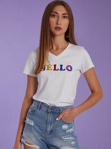 T-shirt hello SH7974.4117+2