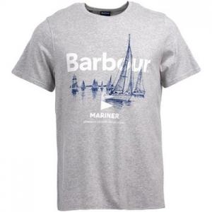 T-shirt με κοντά μανίκια Barbour