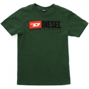 T-shirt με κοντά μανίκια Diesel