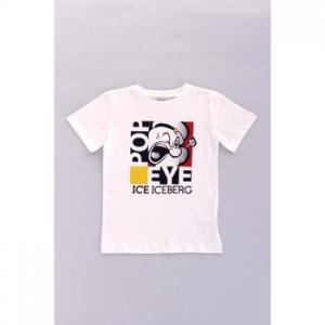 T-shirt με κοντά μανίκια Iceberg