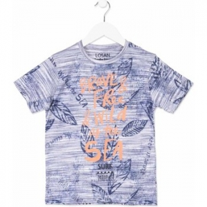 T-shirt με κοντά μανίκια Losan