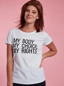 T-shirt με strass SH7958.4170+1