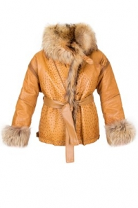 Ταμπά Δερμάτινο Jacket από