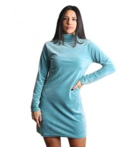 Βελούδινο μίνι φόρεμα ζιβάγκο