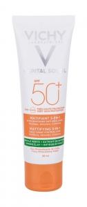 Vichy Capital Soleil Mattifying 3-in-1 SPF50+ Face Sun Care 50ml (Waterproof)