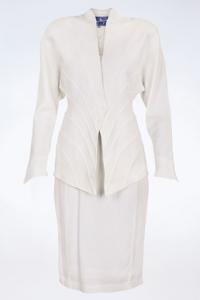 Vintage Λευκό Ταγιέρ / Μέγεθος: 42 IT - Εφαρμογή: S / M
