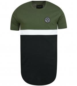 Vinyl art color blocked ανδρικό T-shirt 71515