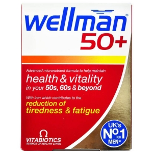 Vitabiotics Wellman 50+ Πολυβιταμίνη