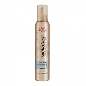 WELLAFLEX MOUSSE SHINY ULTRA STRONG HOLD 200ml
