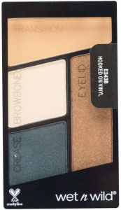 Wet N Wild Color Icon Quad Eye Shadow Hooked On Vinyl 4,5gr