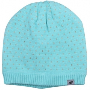 Winter hat 4f W HJZ18-JCAD003 47M turquoise