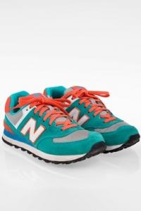 WL574ER Τρίχρωμα Sneakers με Διάφορες Υφές / Μέγεθος: 38 - Εφαρμογή: Κανονική