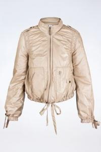Χρυσαφί-Μπεζ Βomber Jacket