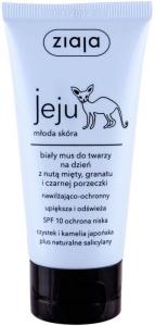 Ziaja Jeju White Face Mousse Moisturiser SPF10 Day Cream 50ml