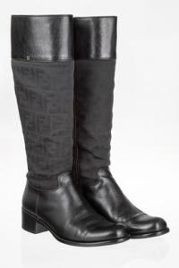 Zucca Μαύρες Knee-High Μπότες